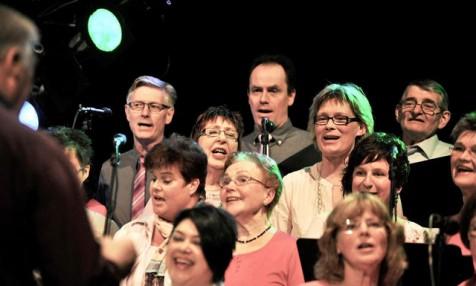 Det är roligt att sjunga!