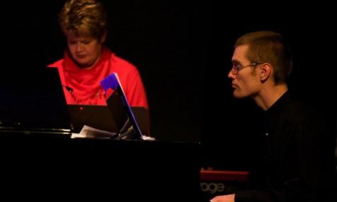 Klaviaturspelarna Ingela och David